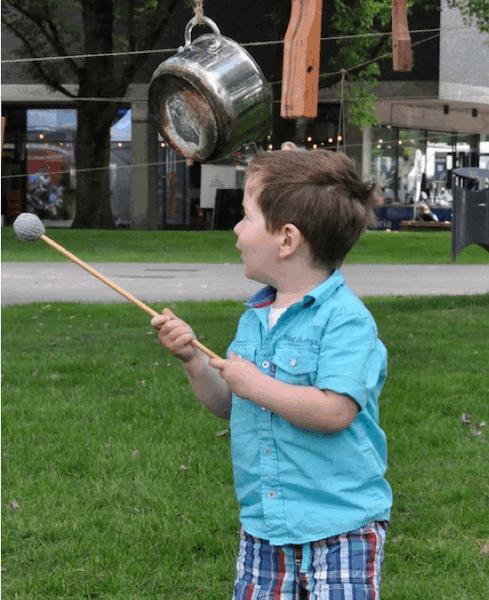 5. Zorg tijdens muziekfestivals en concerten voor speciale kinderactiviteiten