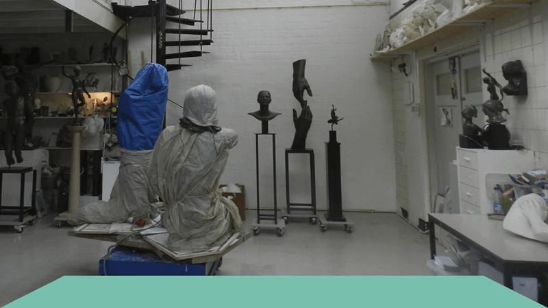 Atelierclusters in Brabant: inspirerend, maar ook gewoon praktisch