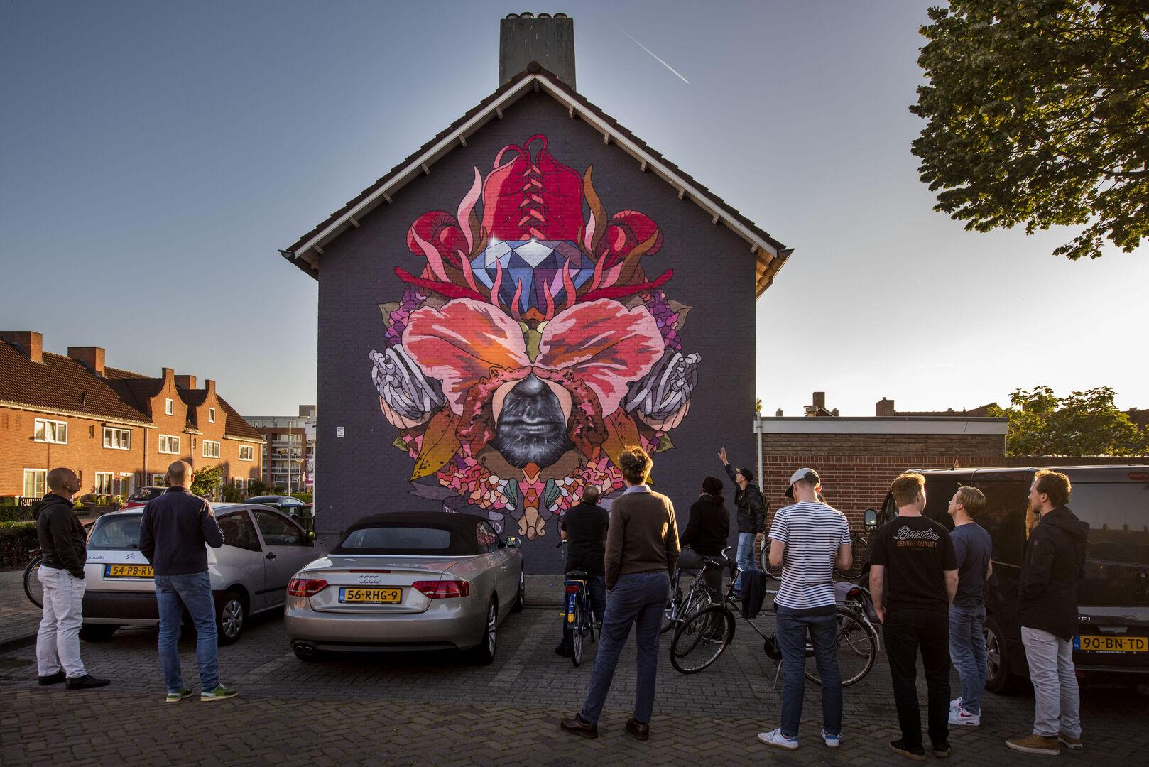 Blind Walls Gallery: Breda omarmt blinde muren met kunst
