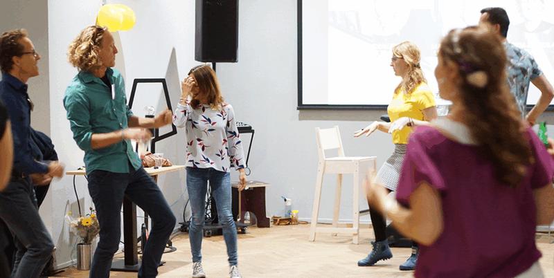 Dansen op de werkvloer