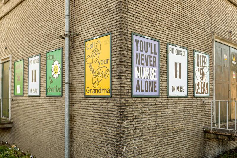Hoopvolle posters kleuren Breda