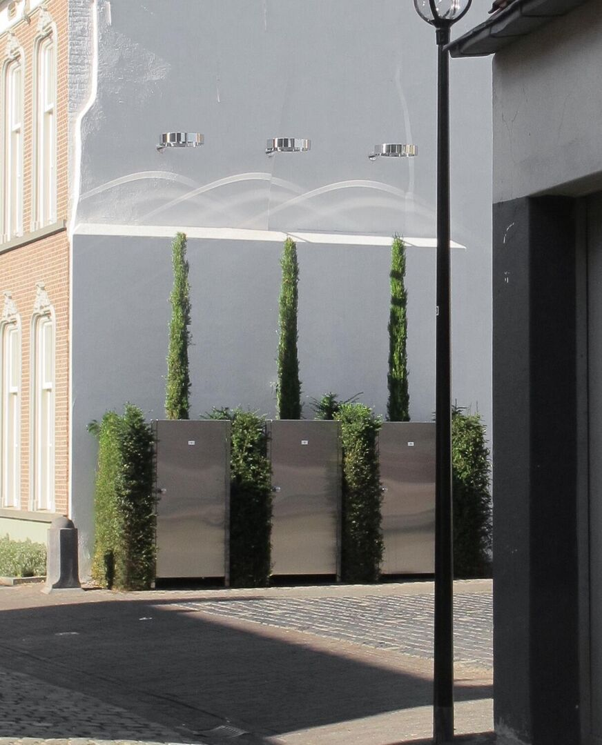 Kunstwerk Public Green Through Hoops van Philip Lüschen - Beeld door Philip Lüschen