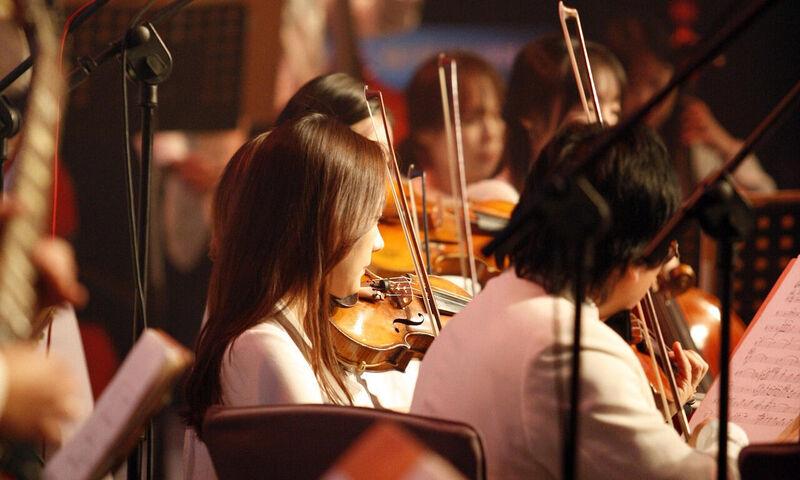 Kweekvijver met jong en muzikaal talent