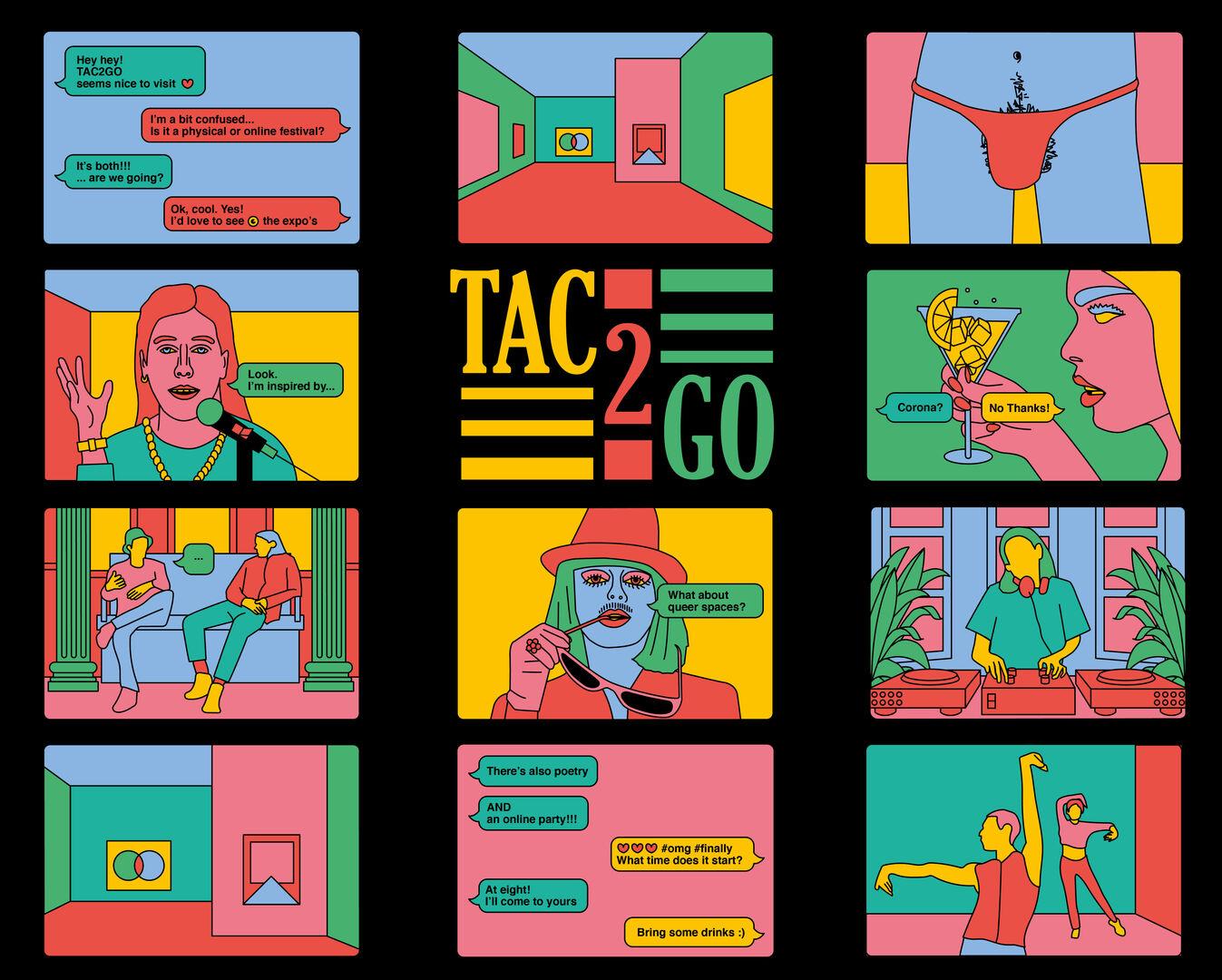 TAC 2 GO - hybride kunstfestival