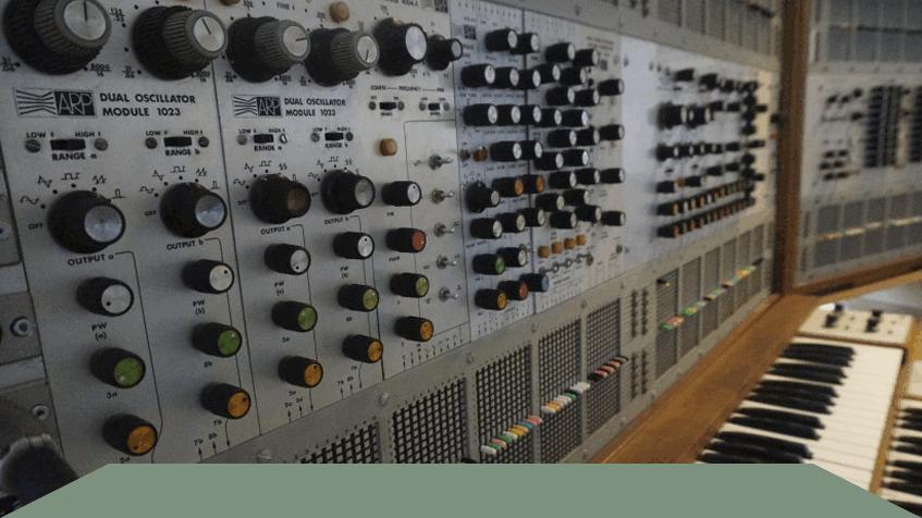 Willem Twee Studio's; de hemel voor muziekliefhebbers