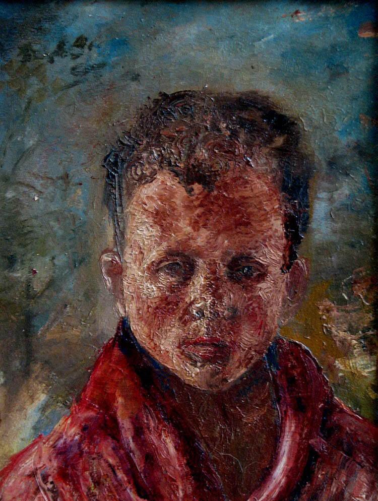 Zelfportret Jan Wessendorp (1952)