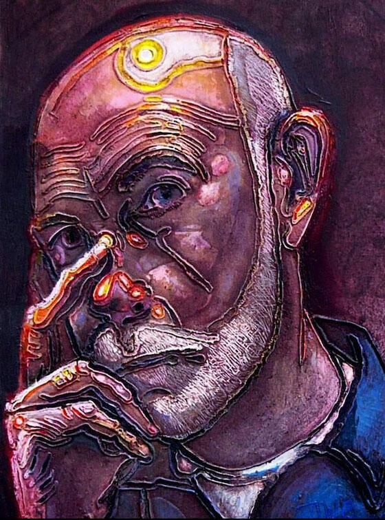 Zelfportret Jan Wessendorp (2012)