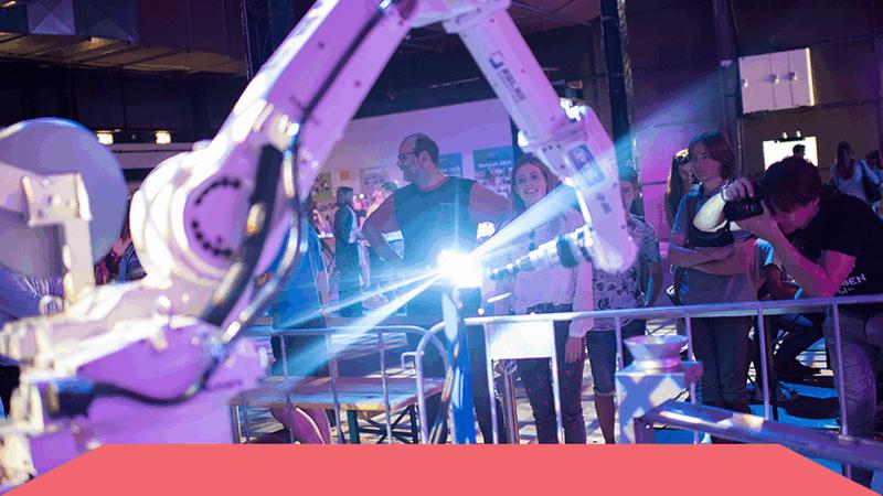 Zijn jongeren enthousiast te krijgen voor een toekomst in de creatieve technologie?