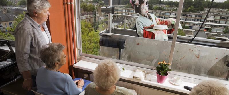 Zo kan het ook: kunst en cultuur in de ouderenzorg